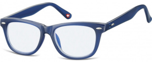 Montana computerbril Kblf1 junior wayfarer donkerblauw