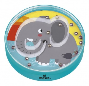 Moses geduldspel Up and Down junior olifant 9,5 cm