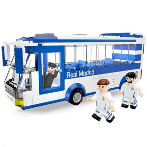 NanoStars Real Madrid Bouwset Spelersbus