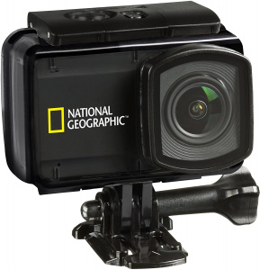National Geographic action-camera HD Explorer 4 zwart 23-delig