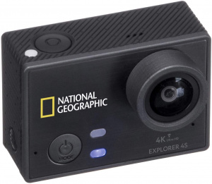National Geographic action-camera HD Explorer 4S zwart 17-delig
