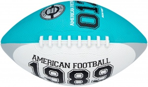 New Port American football medium aqua/wit 26 cm