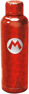 Nintendo thermosfles Super Mario 515 ml 7 x 24 cm RVS rood