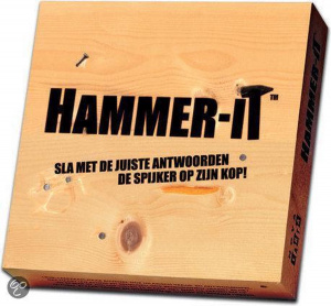Nova Carta quizspel Hammer-It junior hout naturel 5-delig