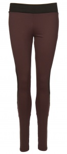 Papillon sportlegging dames bordeaux