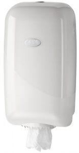 Pearl Line White Poetsrol Dispenser Mini