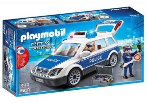 PLAYMOBIL City Action: Politiepatrouille (6920)