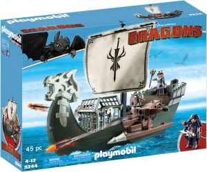 PLAYMOBIL Dragons: Drako's Schip (9244)