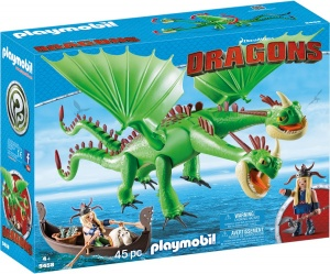 PLAYMOBIL Dragons - Morrie & Schorrie met Burp & Braak (9458)