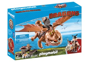 PLAYMOBIL Dragons - Vissenpoot & Speknekje (9460)