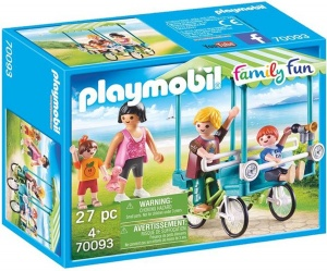 PLAYMOBIL Family Fun - Familiefiets (70093)