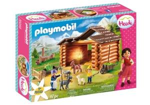 Playmobil,HEIDI,WITH SCHOOL TEACHER,2 FRIENDS and SCHOOL ACCESSORIES