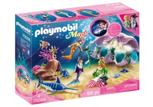 PLAYMOBIL Magic - Nachtlamp in schelp met meerminnen (70095)