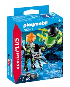 PLAYMOBIL Playmo-Friends: Agent met drone (70248)