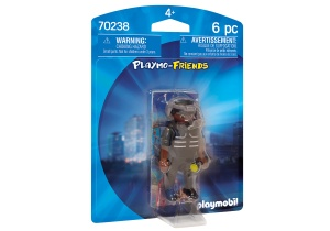 PLAYMOBIL Playmo-Friends - SIE-agent (70238)