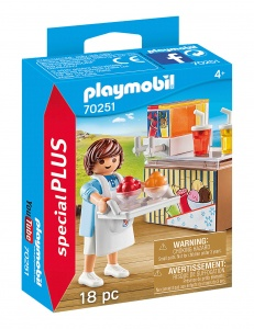 PLAYMOBIL Playmo-Friends: Slush-verkoper (70251)