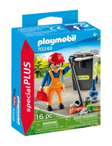 PLAYMOBIL Playmo-Friends: Straatveger (70249)