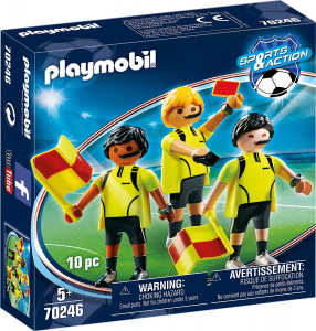 PLAYMOBIL scheidsrechtersteam junior 7-delig