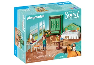 PLAYMOBIL Spirit Riding Free - Lucky's slaapkamer (9476)