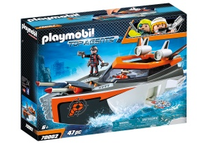 PLAYMOBIL Spy Team turboschip (70002)