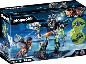 PLAYMOBIL Top Agents Arctic Rebels sneeuwrobot (70233)