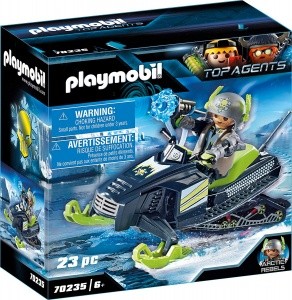 PLAYMOBIL Top Agents Arctic Rebels sneeuwscooter (70235)