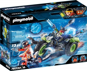 PLAYMOBIL Top Agents Arctic Rebels sneeuwtrike (70232)