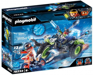 PLAYMOBIL Top Agents Arctic Rebels sneeuwtrike (70232) 73-delig