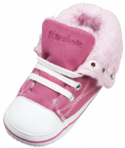 Playshoes babysneakers roze