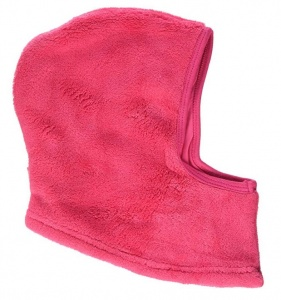 Playshoes fleece muts volledig junior roze one size