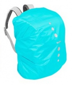 Playshoes regenhoes rugzak polyester 6-15 liter turquoise maat S