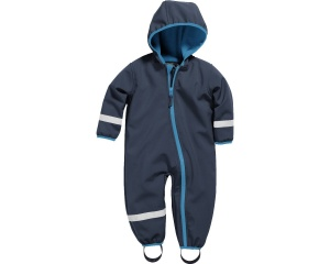 Playshoes softshell overall navy junior