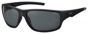 Polaroid sunglasses 7010/S807/M9 men's black with grey lens