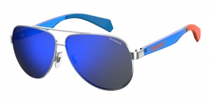 Polaroid sunglasses 8032/Spjp/5x unisex blue with blue lens