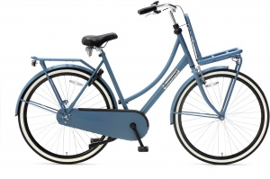 Popal Daily Dutch Basic 28 Inch Dames Terugtraprem Blauw