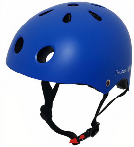 Pro Sport Lights fietshelm junior polystyreen blauw