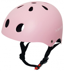 Pro Sport Lights fietshelm junior polystyreen roze