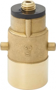 ProPlus LPG nippel Bajonet 10 mm messing goud