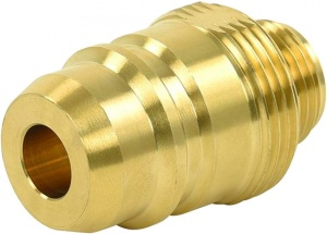 ProPlus LPG nippel Euronozzle 22 mm messing goud in blister