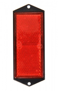 ProPlus reflector 104 x 40 mm rood