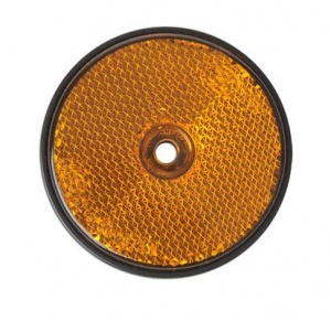 ProPlus reflector rond 60 mm oranje