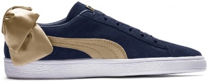 Puma sneakers Bow Varsity Wn's dames blauw/goud