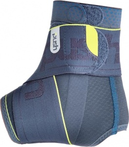 Push Sports enkelbrace 8 grijs links