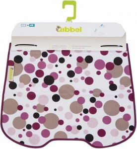 Qibbel stylingset voor Qibbel windscherm Dots paars Q714