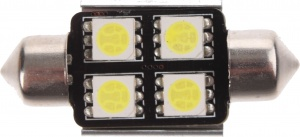 Race Sport autolamp C5W SMD led 36 mm 12 V 1,92 W wit per stuk