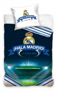 Real Madrid dekbedovertrek 140 x 200 cm multicolor