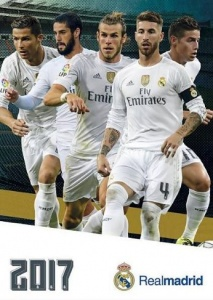 Real Madrid kalender 2017 42 x 30 cm
