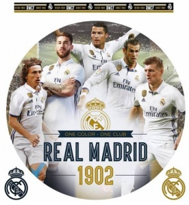 Real Madrid muursticker Golden Boys 2 stickervellen