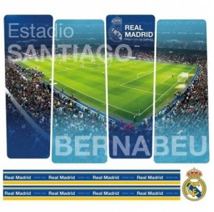 Real Madrid muursticker stadion 6 stuks