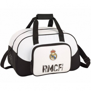 Real Madrid sporttas wit 40 x 25 x 23 cm